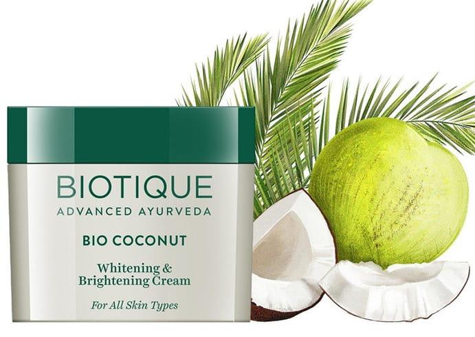 Biotique Bio Coconut Whitening Brightening Cream