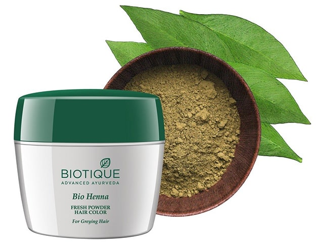 Biotique Bio Henna Fresh Powder Hair Color for Dark Hair
