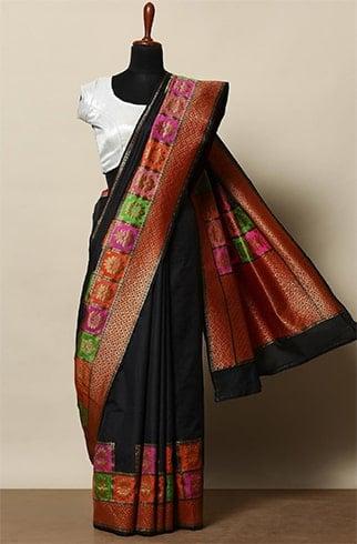 Brocade Pallu Silk Saree