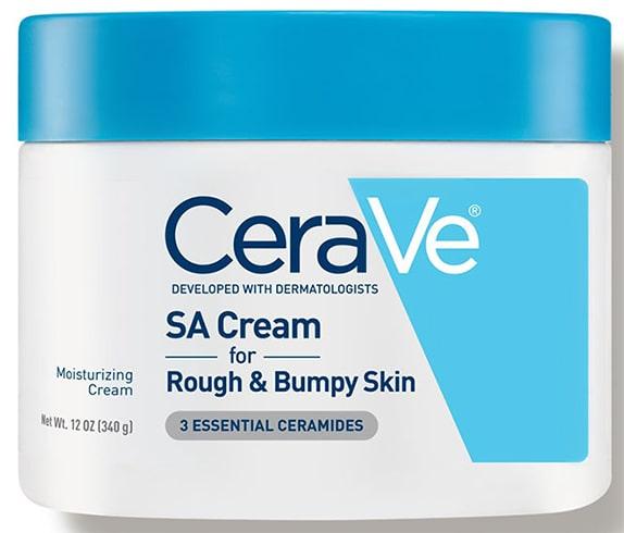 CeraVe SA Cream for Rough Bumpy Skin