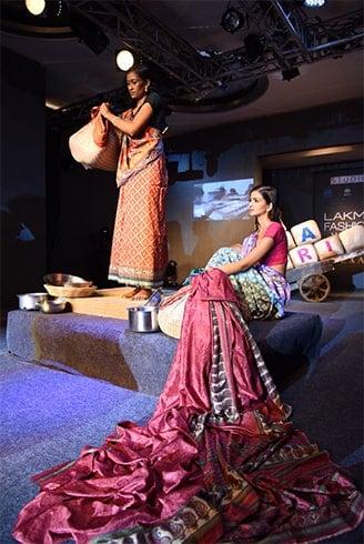 rcular Design Challenge Presents I was a Sari