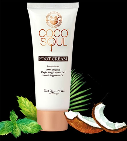 Coco Soul Foot Cream with Virgin Coconut Oil