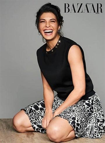 Jacqueline Fernandez Harpers Bazaar India Magazine