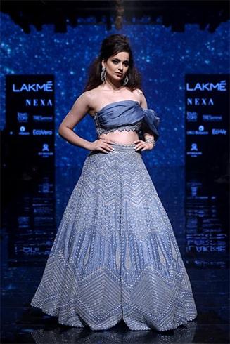 Kangana Ranaut at Lakme Fashion Week Winter Festive 2019