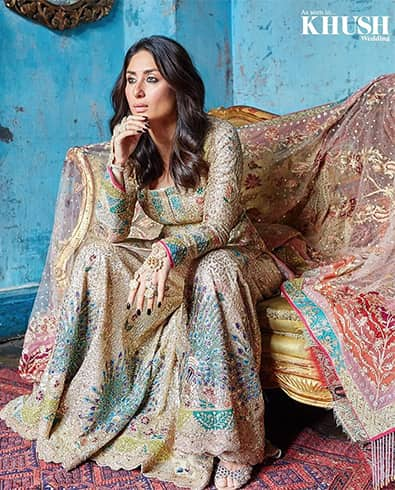Kareena Kapoor Khush Wedding Magazine Shoot