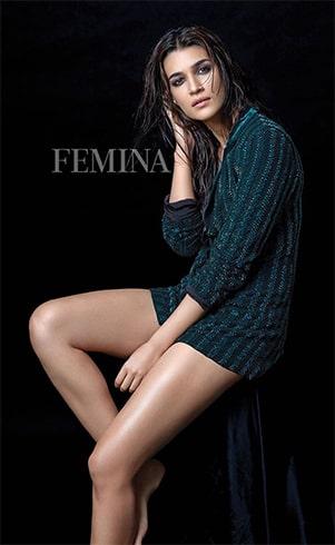 Kriti Sanon Femina Magazine Shoot