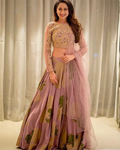 Lehenga Set with Pearl Work