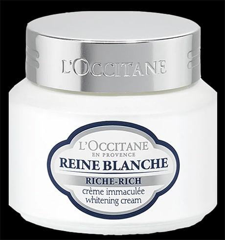 LOccitane Reine Blanche Whitening Cream