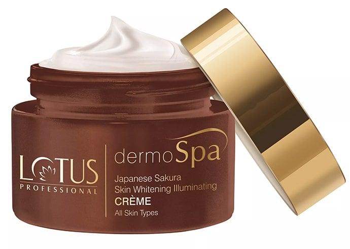 Lotus Professional DermoSpa Japanese Sakura Skin Whitening Illuminating Creme with SPF 20