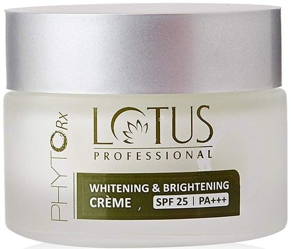 Lotus Professional Phyto-Rx Whitening Brightening Creme SPF 25 PA