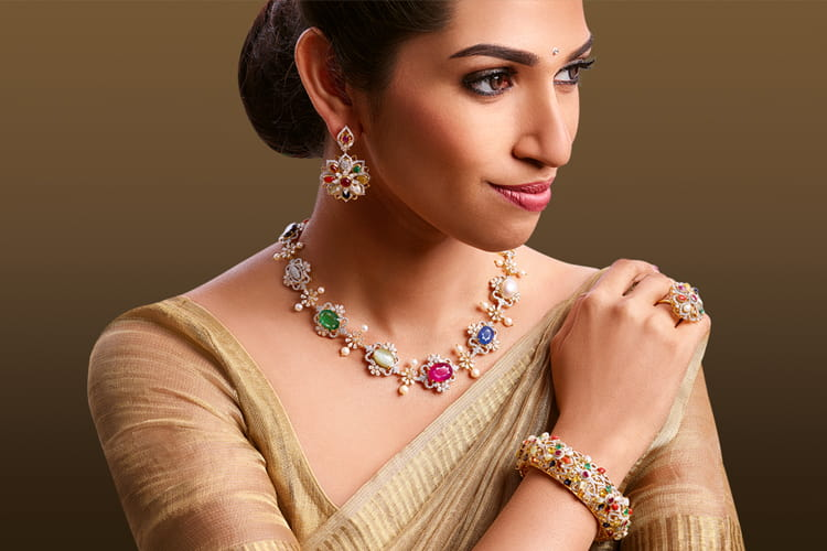 Navratna Jewellery Pieces
