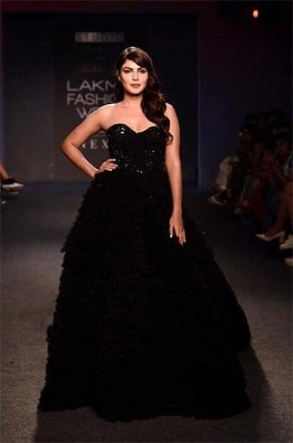 Rhea Chakraborty at Lakme Fashion Week Winter Festive 2019