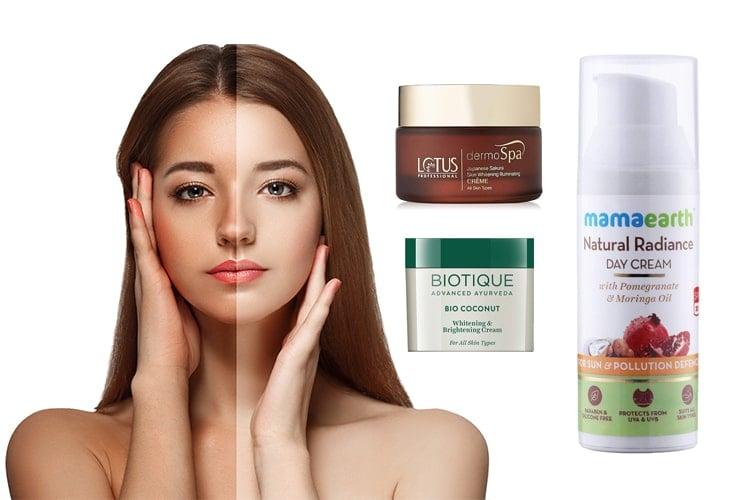 Skin Whitening Creams In India