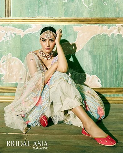 Sonam Kapoor Bridal Asia Magazine Shoot