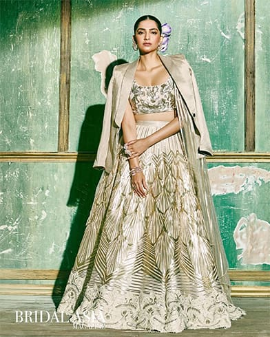 Sonam Kapoor Bridal Asia Photo Shoot