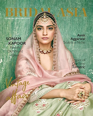 Sonam Kapoor on Bridal Asia August 2019