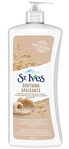 St Ives Naturally Soothing Oatmeal Shea Butter Body Lotion