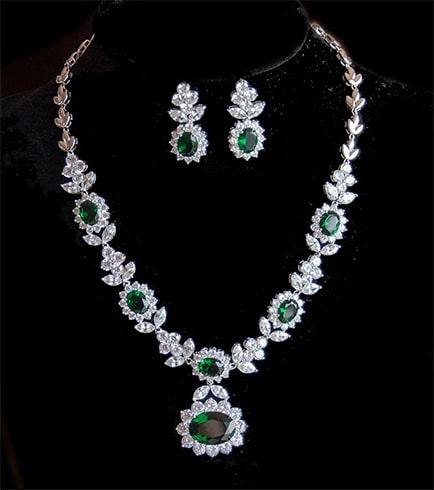 Vintage Floral Jewellery Set
