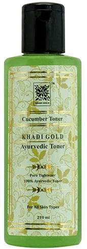 Khadi Gold Cucumber Pore Tightening Toner