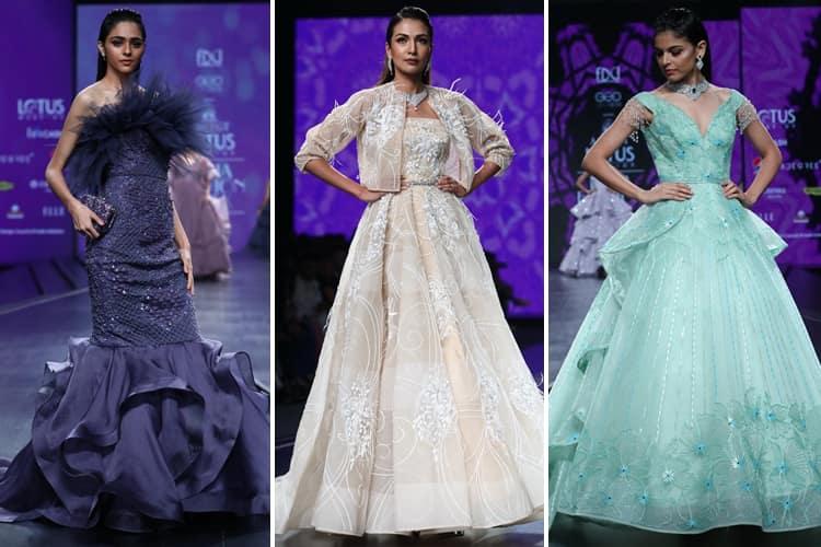 Amit GT Lotus Makeup India Fashion Week Spring Summer 2020