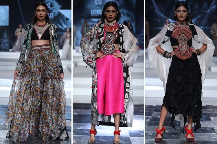Anamika Khanna Lotus Makeup India Fashion Week Spring Summer 2020