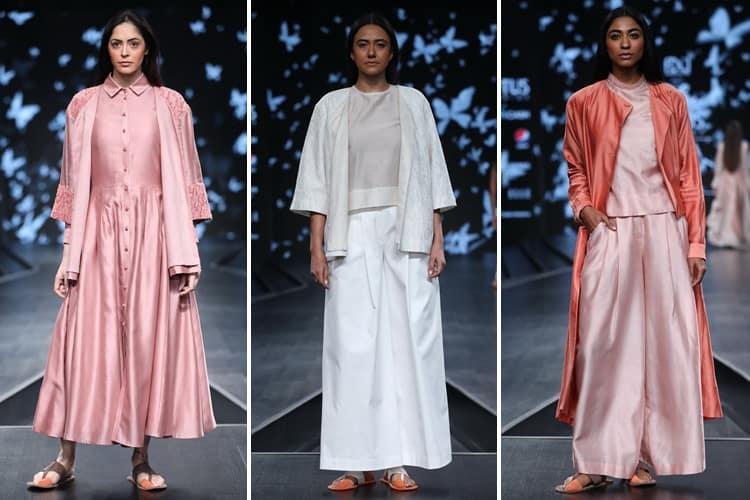 Dhi Lotus Makeup India Fashion Week Spring Summer 2020