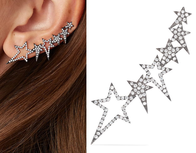Diamond Ear Cuff