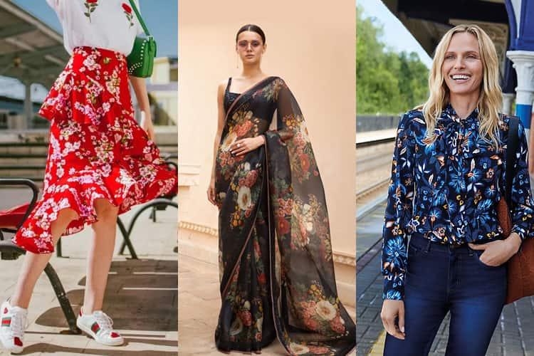 Floral Print Outfit Ideas