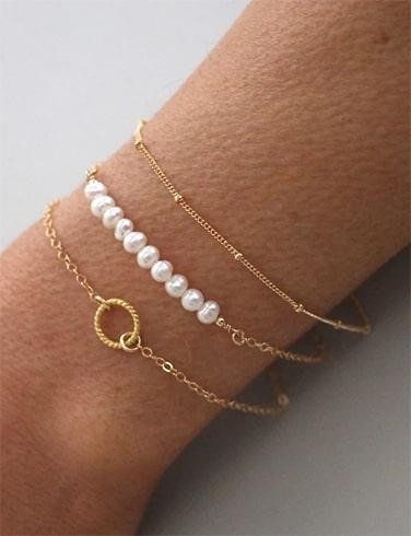 Gold Bracelet Sets