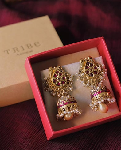 Jhumkas for wedding