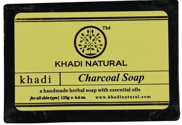 Khadi Natural Ayurvedic Charcoal Soap