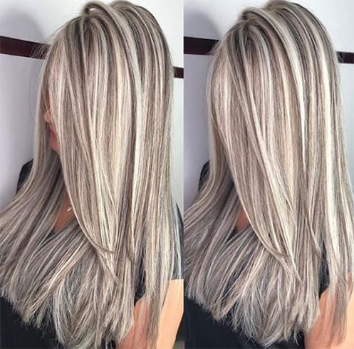 Light Ombre Chunky Highlights