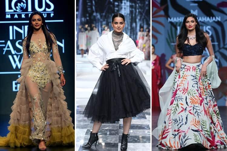 Lotus Makeup India Fashion Week Spring Summer 2020