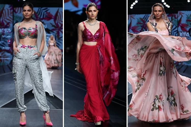 Mahima Mahajan Lotus Makeup India Fashion Week Spring Summer 2020