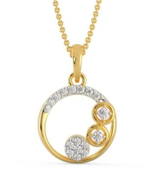 Mine Diamond Pendant