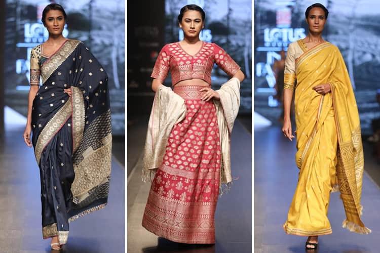 Naturally Anuradha Lotus Makeup India Fashion Week Spring Summer 2020