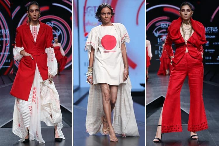 Nidhika Shekhar Lotus Makeup India Fashion Week Spring Summer 2020