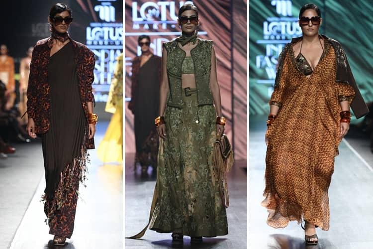 Nikita Mhaisalkar Lotus Makeup India Fashion Week Spring Summer 2020