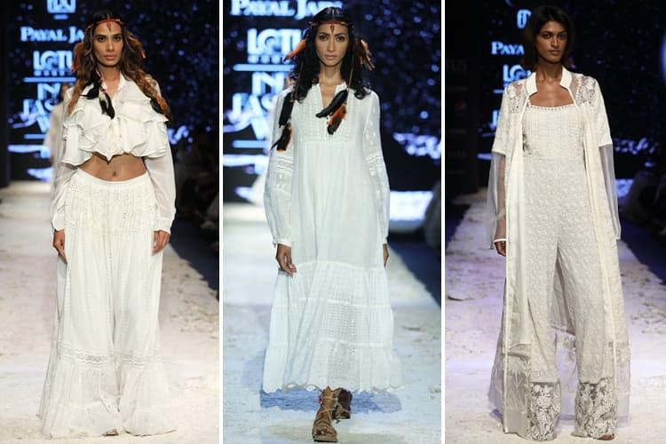 Payal Jain Lotus Makeup India Fashion Week Spring Summer 2020
