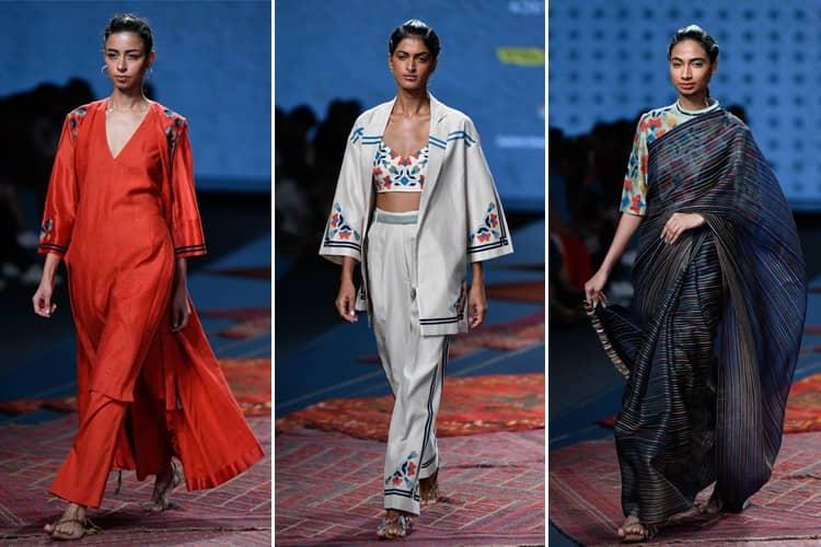 Ragini Ahuja Lotus Makeup India Fashion Week Spring Summer 2020