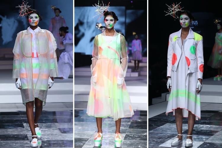 Rajesh Pratap Singh Lotus Makeup India Fashion Week Spring Summer 2020