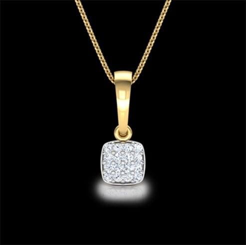 Riley Diamond Truss Pendant