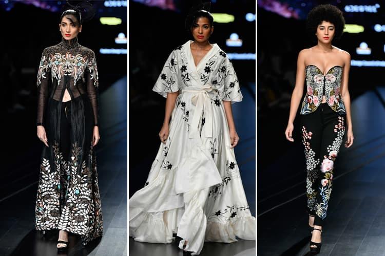 Samant Chauhan Lotus Makeup India Fashion Week Spring Summer 2020