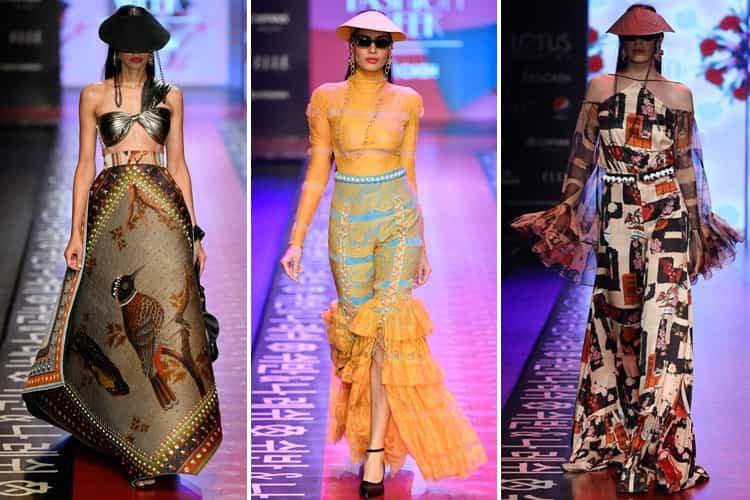 Shivan and Narresh Lotus Makeup India Fashion Week Spring Summer 2020