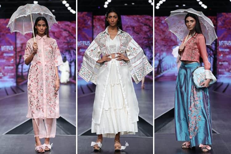 Shruti Sancheti Lotus Makeup India Fashion Week Spring Summer 2020