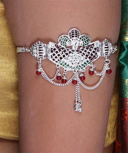 Silver Plated Armlet