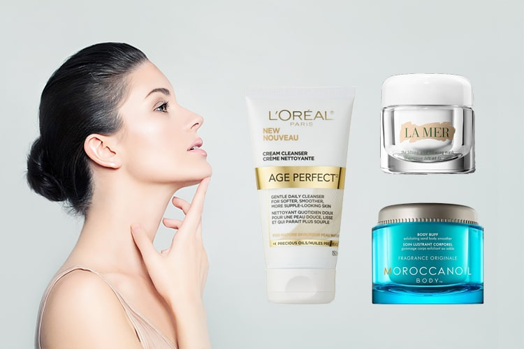 Skincare Products To Take Care Of Neck And Chest Area