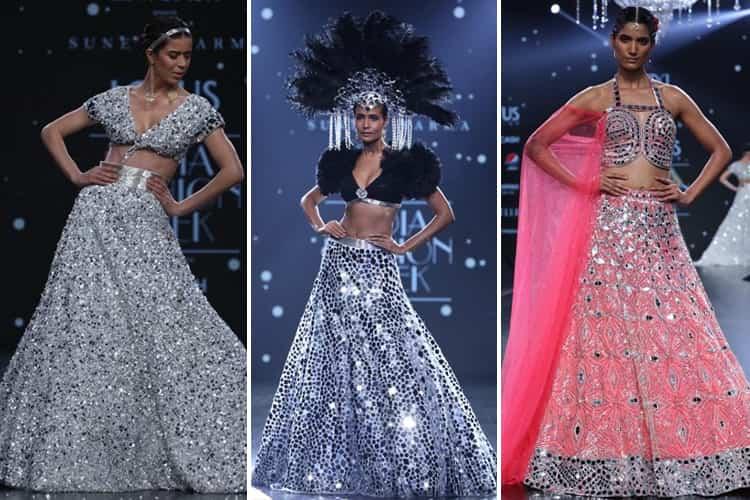 Suneet Varma Lotus Makeup India Fashion Week Spring Summer 2020