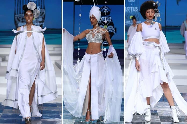 Wendell Rodricks Lotus Makeup India Fashion Week Spring Summer 2020