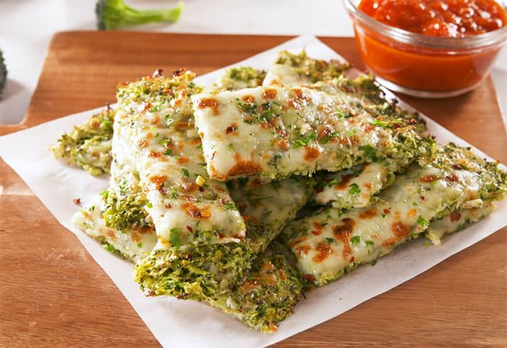 Broccoli Cheesy Bread
